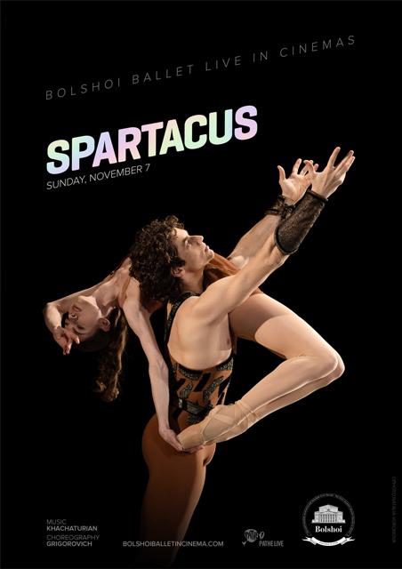 Spartacus - Bolshoi Ballet From Moscow 2015/16 Season